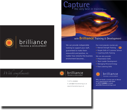 Brilliance Training Logos and Branding